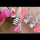 Цветята са най-горещият тренд това лято - същинска цветна феерия оживява върху ноктите с тези разкошни идеи (Снимки):