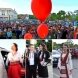 Пловдивчанки показаха на всички как се прави - момичета в народни носии засенчиха всички на бала (Снимки):