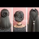 35 супер лесни и ефектни видео-прически за дълга коса - трябват ти само ластици и гребен (Видео):