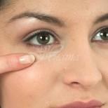 Премахване на торбичките под очите и сините кръгове с торбички сол