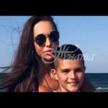 Семейството на Алисия се увеличи с двама нови членове - майка на три момчета (Снимки):