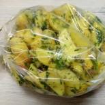 Картофи в плик приготвени по напълно нов начин, топят се в устата, а 1 порция никога не стига