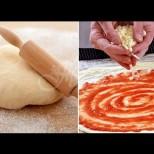 Тънко, по-тънко тесто с мая за най-вкусната пица от италианската ми свекърва-В техния край всички така ги правят