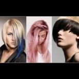 Цветен бретон, пастелно и ярък контраст - ултрамодерните трендове в цветовете за къса коса тази година (Снимки):