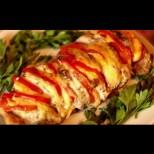 Без да го начукваш и мариноваш - ето как свинското печено става умопомрачително крехко и вкусно. Режеш, пълниш и печеш под фолио: