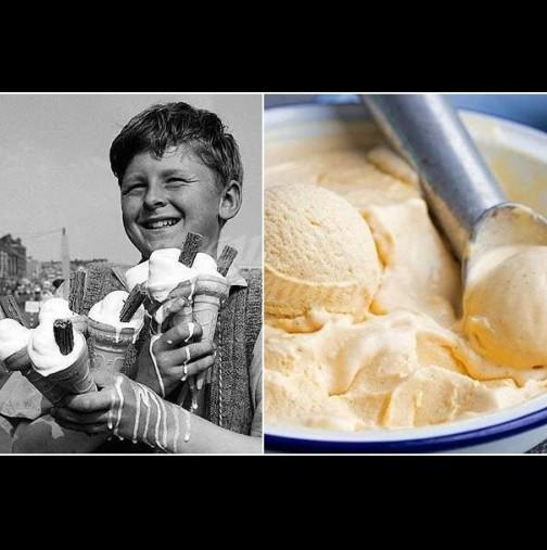 Вкусът от едно време, когато сладоледът се мажеше с лъжица: 2 съставки и взривяващ сметанов аромат