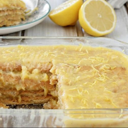 Мързелива торта без печене- 10 минутки и е готова- шокова наслада за всеки ден!