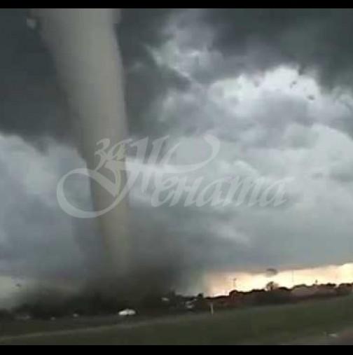 Голямо торнадо удари Варна