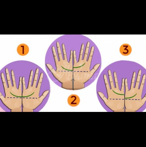Днес ще ти гледаме на ръка - една линия на дланта ти разкрива за теб подробности, за които не си и подозирала: