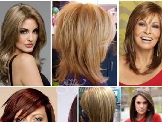 Прическа за тънка коса 40 модерни идеи