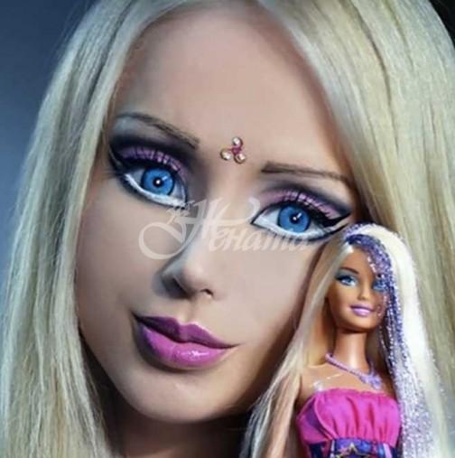 Помните ли момичето-Барби? Ето колко е красива днес без целия този грим (Снимки):