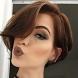 Красиви прически за къса коса с бретон - 20 женствени варианта