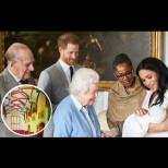 Първи снимки от тайната церемония по кръщенето на принц Арчи - вижте колко е красива Меган (Снимки):