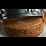 Послушен блат за торта - рецепта №1 в нета от опитните домакини. Перфектно се надува, реже се лесно, адски вкусен: