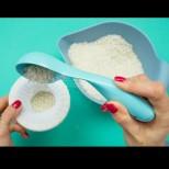 Слагам малко ориз в чорапите и започвам да чистя вкъщи, ефектът е просто изумителен