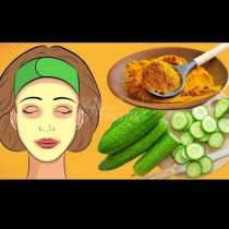 Краставица + куркума= великолепна кожа и 10 години заминават за нула време от лицето ви