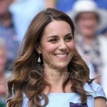 Кейт Мидълтън наруши важна традиция на Уимбълдън и пак прикова всички погледи към себе си (Снимки):