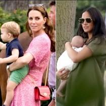 Всички кралски бебета на едно място - Кейт и Меган ги събраха по важен повод (Сладки снимки):