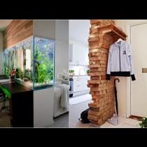 Дом без врати - 27 свежи идеи за разделяне на помещенията с нетрадиционни прегради (Снимки):