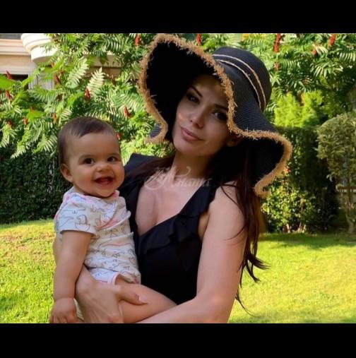 Дъщеричката на Преслава предизвика фурор в мрежата с това сладко видео - вижте реакцията ѝ (Видео):