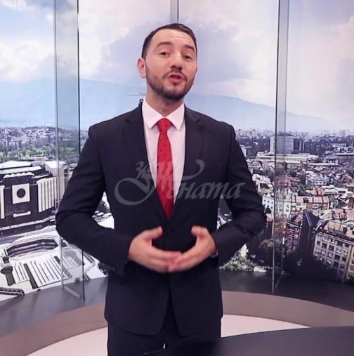Антон Хекимян срещна любовта отново на работното място-снимки