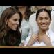 Кейт и Меган стопиха ледовете - двете блеснаха заедно и демонстрираха стил и елегантност. Коя ви харесва повече? (Снимки):