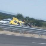 Жена в жестока катастрофа на магистрала Тракия