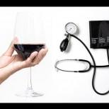 Дози с безопасни количества алкохол за кръвното налягане