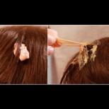 Как да отделим заплетена дъвка от косата - 4 супер лесни начина, без болка и без да режем нищо: