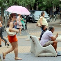 Актуална прогноза за времето-Тропическо време се задава-Жега, дъжд и бури