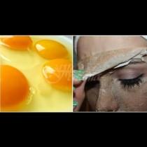 Яйчена пилинг-маска с ефект на лазерно почистване - нанасяш, съхне, обелваш и всичко мръсно и грозно остава по маската: