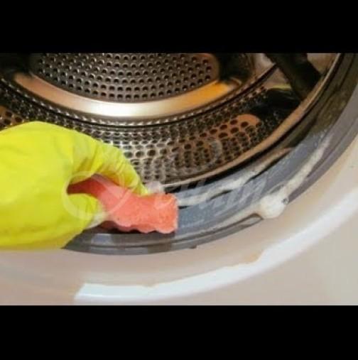 Лично аз съм напълно възхитена от този метод за почистване на пералнята - евтин и без химия