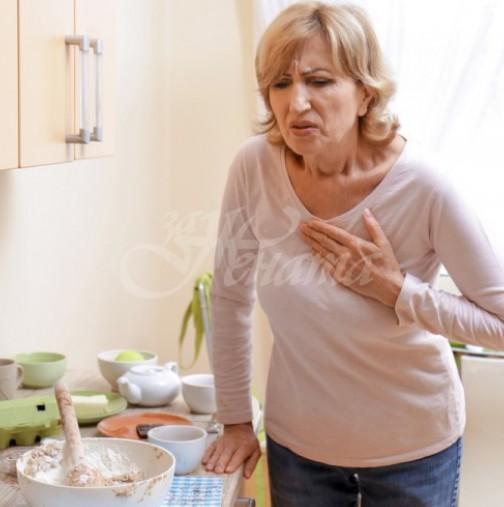 Признаци при жените, които сигнализират, че инфарктът е близо