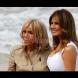 Мелания Тръмп и Бриджит Макрон направиха състезание по елегантност на срещата на G-7 (Снимки):