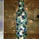 23 уникални декорация за дома със стъклени бутилки (Галерия)