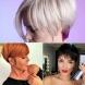 Къси прически с бретон последна тенденция-Зрелите жени с такава прическа изглеждат много по-млади