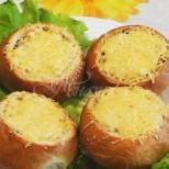 Вечеря в хлебче, ето това за мен е перфектното хапване след тежък работен ден