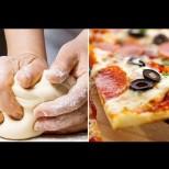Бързо тесто за пица - без мая, без яйца и мляко! Тънко, плътно и хрупкаво!