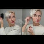 5 супер елементарни прически за къса коса - изглеждай различно всеки ден (Снимки):