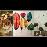 15 симпатични и забавни идеи за украса с природни материали, които не струват и стотинка, а топлят сърцето (Снимки):
