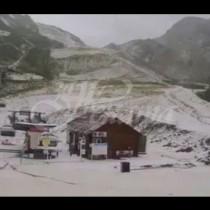 Сняг наваля в Черноморски курорт
