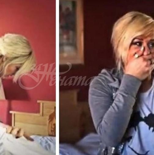 Камериерка искаше да почисти леглото и като повдигна чаршафите се разплака от това, което видя