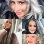 Класически къси подмладяващи прически за жени на средна възраст