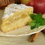 Кекс с ябълки и кисело мляко- есенно настроение всеки ден
