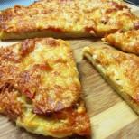 Картофена пица на тиган за 10 минути - докато сложиш масата и е готова! Хем лесно, хем бързо, хем вкусно:
