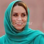 Кейт Мидълтън в тоалет на арабска принцеса блесна отново в Пакистан: