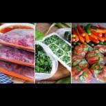 Как правилно се замразяват за зимата зеленчуци и подправки - всички тайни, за да останат витамините вътре: