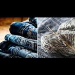 Гениални идеи какво да правим със старите дънки (Галерия)