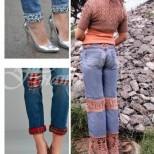 Какви красоти само спретнах от старите дънки, сега всеки ме пита откъде си пазаря дрехите (снимки)