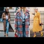 Карето е изборът на жената без възраст - 18 убийствено елегантни карирани палта, с които ще греете тази зима (Снимки):